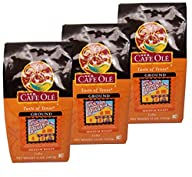 HEB Cafe Ole Ground Coffee 12oz Bag (Pack of 3) (Taste of San Antonio)