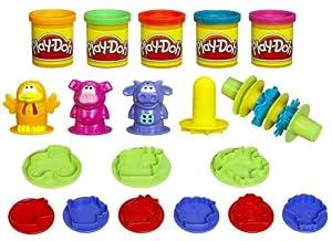 Hasbro - 23866 - Play Doh - Pâte a modeler - Le Baril Des Animaux - Animaux de la Ferme