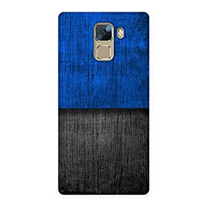 Great Blue Black Back Case Cover for Huawei Honor 7