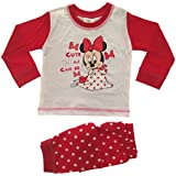 Baby Girls Pyjamas Kids Toddlers Disney Minnie Mouse Cute As Can Be Pjs Set Size UK 6 to 24 Months