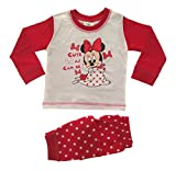 Baby Girls Pyjamas Kids Toddlers Disney Minnie Mouse Cute As Can Be Pjs Set Size UK 18 to 24 Months