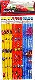 12pk Disney Cars 2 Number 2 Pencil Pack