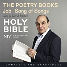 NIV Bible 4: The Poetry Books Audiobook by New International Version Narrated by David Suchet