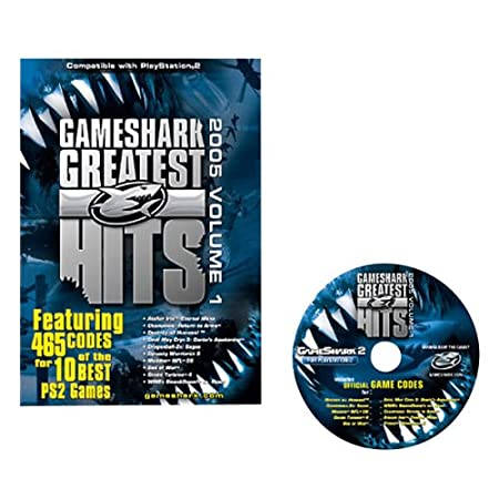 GameShark PS2 Greatest Hits: 465 Codes for 10 PS2 Games (2005, Volume 1)
