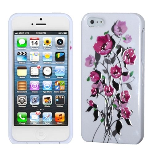 Mybat Iphone5Hpcses800Np Slim And Stylish Protective Case For The Iphone 5 / Iphone 5S - Retail Packaging - Spring Season Sense front-760791