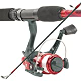 Search : South Bend Worm Gear Spinning Fishing Combo - Red, Blue or Orange*
