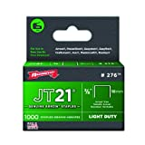 Arrow Fastener 276 Genuine JT21/T27 3/8-Inch Staples, 1,000-Count