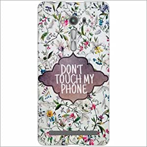 Asus ZenFone 2 Laser ZE500KL - Don'T Touch My Phone Phone Cover [Electronics]