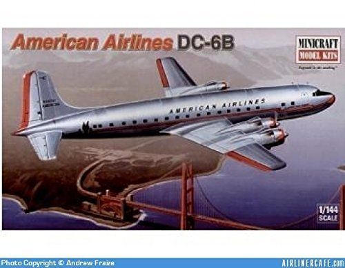 american-airlines-dc-6b-model-airplane-kit-by-minicraft-model-kits