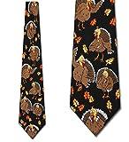 Thanksgiving TIES Turkeys Neckties