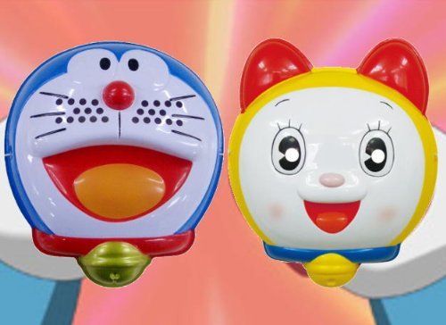 Dora mask even I & dorami-Chan 2 set and fun toy (paper balloons) with set