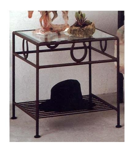 Wrought Iron Bedside Tables 1675 front