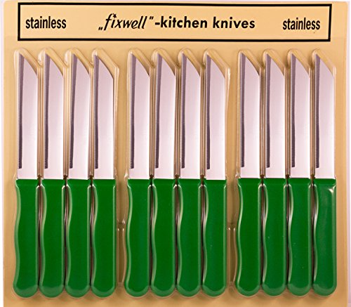 Green Knife Set