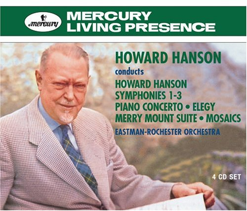 Hanson - Howard Hanson Conducts Howard Hanson - Zortam Music