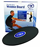 Fitness-Mad Fitness-Mad 40cm Adjustable Wobble Board - Black