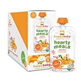 Happy Baby Organic Baby Food 3 Hearty Meals, Chick Chick, 4 oz (Pack of 16)