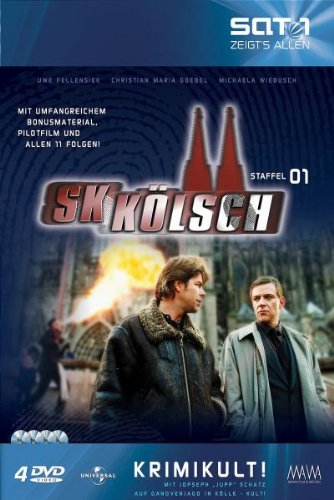 SK Kölsch (1. Staffel, Pilotfilm + 11 Folgen) [Collector's Edition] [4 DVDs]