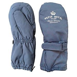 Manoplas Petit Royal Blue. Azul jeans. 12-24 meses. de Elodie Details