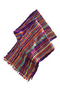 Asian Eye Carnivale Scarf (Purple Multi)