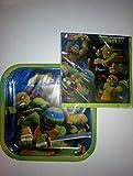TMNT Teenage Mutant Ninja Turtles Disposable Plates and 2 Ply Napkins
