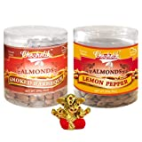 Chocholik Dry Fruits - Almonds Smoked Barbeque & Lemon Pepper With Small Ganesha Idol - Diwali Gifts - 2 Combo...