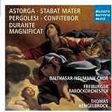 Astorga : Stabat Mater - Pergolèse : Confitebor - Durante : Magnificat