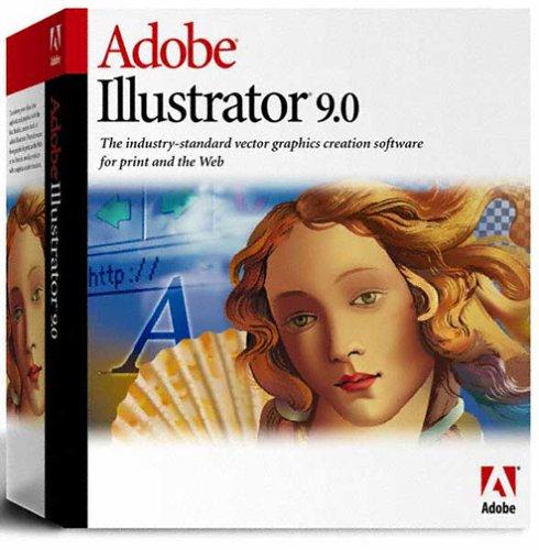 Adobe Illustrator - (Version 9.0 ) - Ensemble Complet - 1 Utilisateur - Cd - Mac - Français