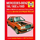 Mercedes Benz 190, 190E & 190D (83-93) Service & Repair Manual
