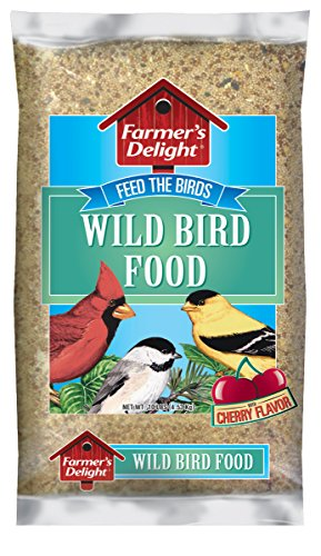 Wagner's 53002 Farmer's Delight Wild Bird Food, With Cherry Flavor, 10-Pound Bag (Bag Of Corn Seed compare prices)