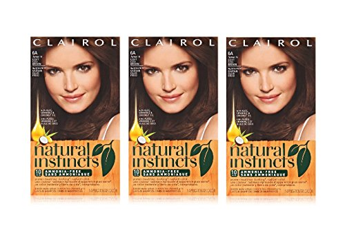 Clairol Natural Instincts  14 Tweed Light Cool Brown 1 Kit  (Pack of 3) (Clairol Color Treat Conditioner 3 compare prices)