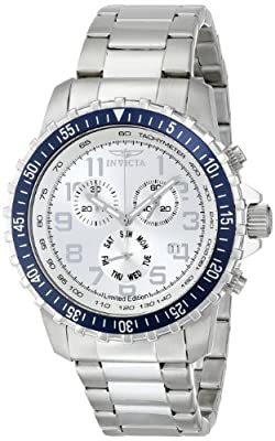 "Invicta 'Limited Edition' Men's ILE6621ASYB ""Specialty"" Stainless Steel Watch"