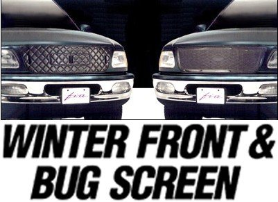 Fia Vinyl Grille Winter Cold Front & Bug Screen ComboCustom FitDodgeDakota1987 to 1996