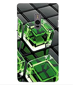 ColourCraft Crystal Design Back Case Cover for OnePlus Two