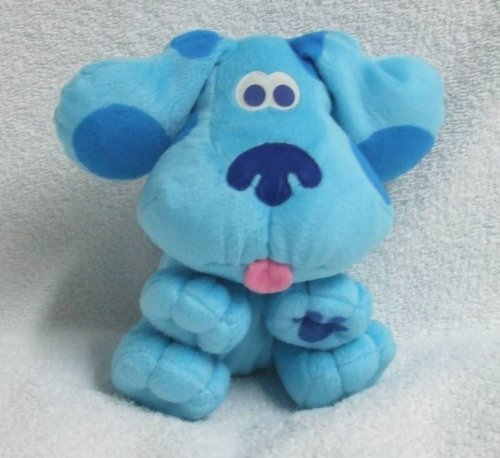 51YJb1ybJlL Cheap Buy  Blues Clues; 7 Blue [The Blue Dog] Hand Puppet [For Childs Hand] Plush Stuffed Toy Doll