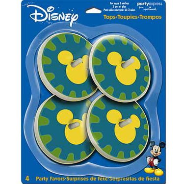 Mickey's Clubhouse Spinning Tops