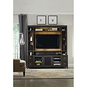 Hooker furniture south park 78 inch entertainment console home entertainment centers Home theater furniture amazon