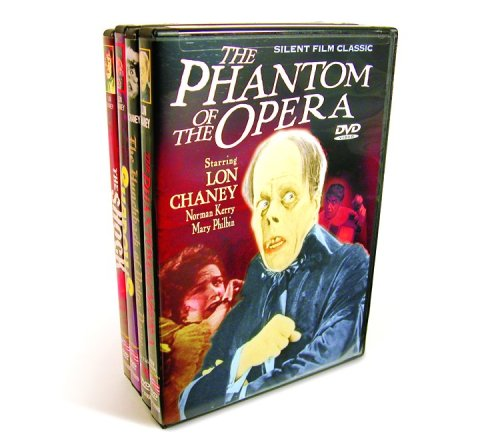 Chaney Collection (Phantom of The Opera / Hunchback of Notre Dame / Shadows /  The Shock) (4-DVD)