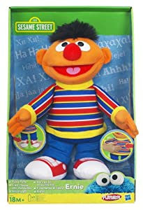 Hasbro - Playskool 98874148 - Sesamstrae Kitzel Mich Ernie