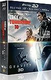 Edge of Tomorrow 3D + Gravity 3D [Combo Blu-ray 3D + Blu-ray + Copie digitale]