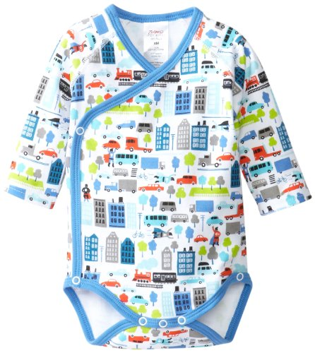 Zutano Baby-Boys Newborn Super Hero Long Sleeve Body Wrap