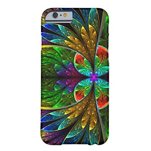 case-mylove fashion new design Abstract Floral Stained Glass Pattern IPhone 6/6s/6 Plus/6s Plus Case
