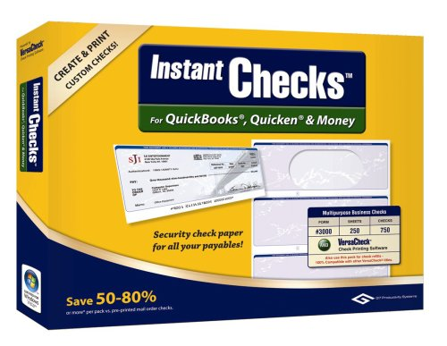 Banking Software Free: VersaCheck Instant Checks Form # 3000 ...