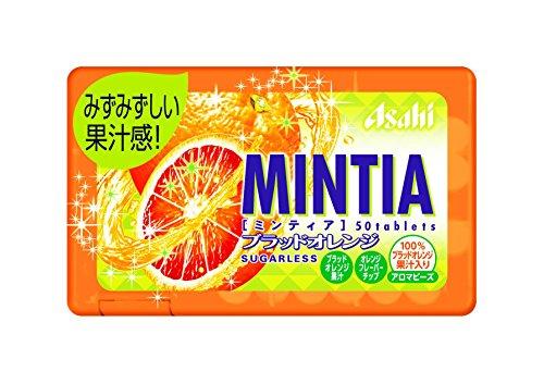 アサヒ フードアンドヘルスケア ミンティア ブラッドオレンジ 50粒(7g)×10個