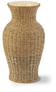 Ivyline Seagrass Vase, Natural, Height 35cm