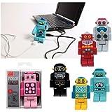 Robot USB Hub - 4 Port Hub, Colors May Vary