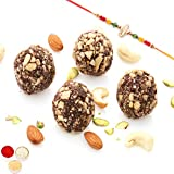Rakhi Gifts Sweets- Sugarfree Chocolate Kaju Laddoo(800 Gms)