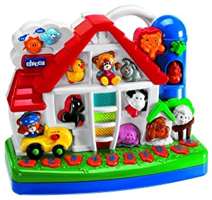 Chicco 24 5 Talking Farm Interactive Bilingual Musical Toy