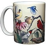 Garden Birds Ceramic Coffee Mug or Tea Cup