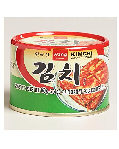 100% Original Korean Kimchi Canned Made in Korea Emergency 160g (Canned Kimchi compare prices)