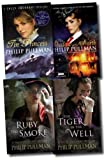 Philip Pullman A Sally Lockhart Mystery Collection Philip Pullman 4 Books Set (The Shadow in the North, The Ruby in the Smoke, The Tin Princess, The Tiger in the Well)